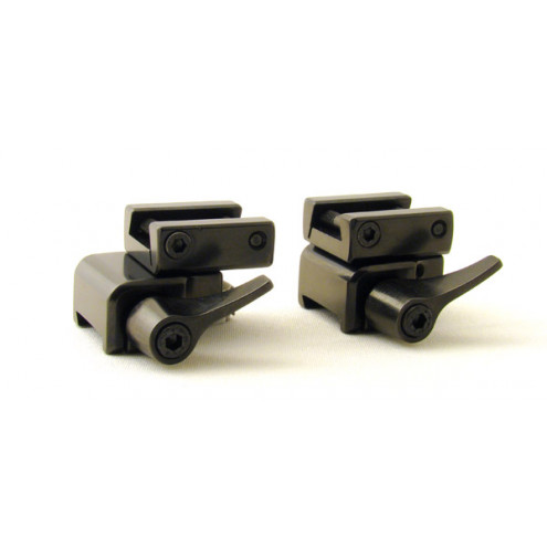 Rusan Roll-off rings with extension, 16.5 mm rail, LM rail, Q-R