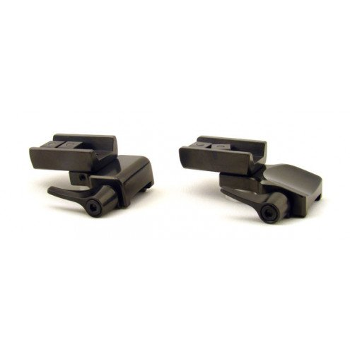 Rusan Roll-off rings with extension, 19 mm rail, Zeiss VM/ZM rail, Q-R