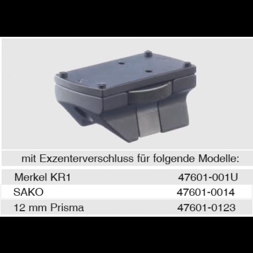 Recknagel Docter mount for Merkel KR1