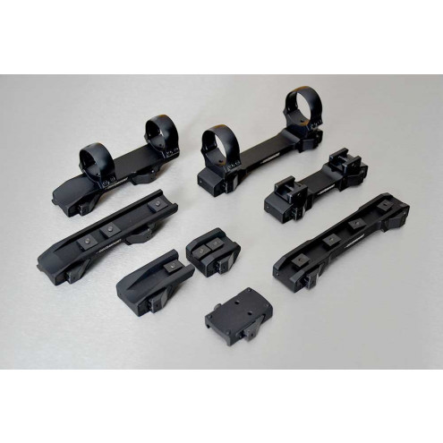 INNOMOUNT for 12mm prism, LM rail