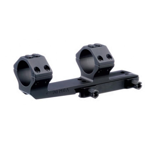 """ERA-TAC one-piece mount (mono-block), 9"""" extended, 34 mm, nuts"""
