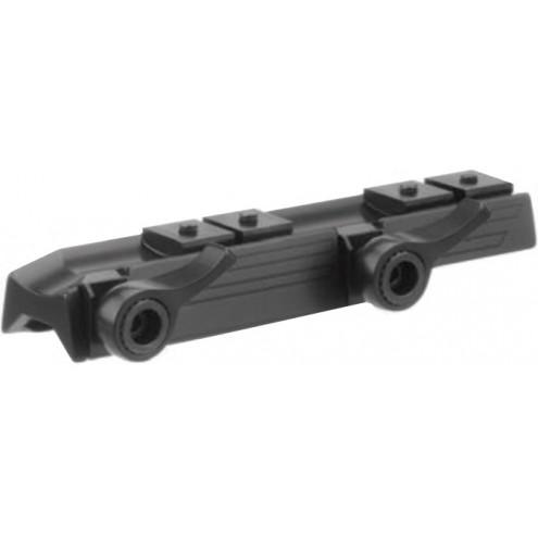 Recknagel Aluminum Tip-Off Mount with QR Levers for Merkel KR1 / B3 / B4, LM Rail