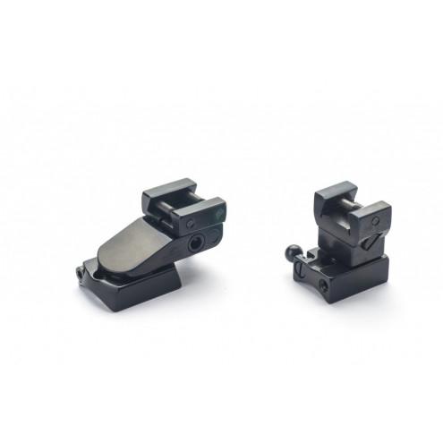 Rusan Pivot mount for Remington 7400, 7600, 750, LM rail