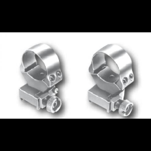 EAW Roll off Rings, Weaver, 25.4mm (1ˇ), BH 17.0mm, medium