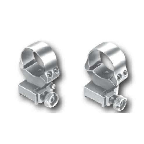 EAW Roll off Rings, Weaver, 30mm (1ˇ), BH 12.0mm, low