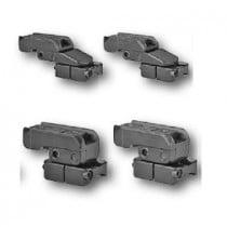 EAW pivot mount, Zeiss ZM/VM rail, Browning A-bolt, Eurobolt