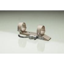 Contessa QR Mount for Bolt Action Rifles, Simple Grey Light, 25.4 mm