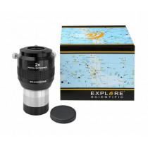 Explore Scientific 2x Focal Extender 50.8 mm