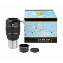 Explore Scientific 3x Focal Extender 31.7 mm