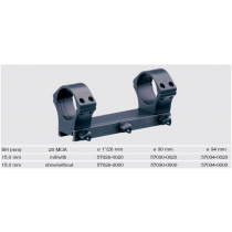 Recknagel One-piece scope mount for Picatinny, 34mm, 20 MOA