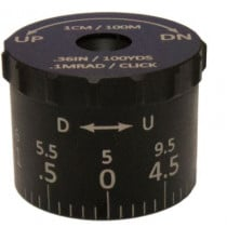 Sightron 9.5 MRAD Tactical Elevation Turret