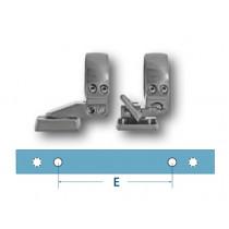 EAW pivot mount - lever lock, LM rail, Browning X-bolt SSA