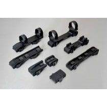 INNOMOUNT for 12mm prism, LM rail