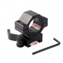LunaVision Q-R Mount, 25 mm, Side