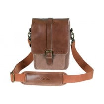 Praktica Heritage Leather Binocular Bag