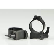 Warne 25.4 mm QD Rings for CZ 527