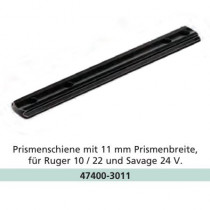 Recknagel 11mm Dovetail Rail for Ruger 10/22, Savage 24 V