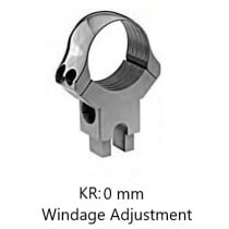 Recknagel Rear Ring with Windage Adjustment for Suhl-Claw Mount, 34 mm
