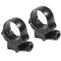 Recknagel Tip-Off Ring Mount with Windage Adjustment for 11mm Dovetail, 30 mm