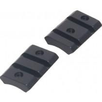 Recknagel Two-Piece Weaver Base for Remington 783