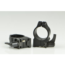 Warne 30 mm QD Rings for Ruger No.1