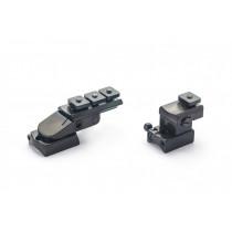 Rusan Pivot mount for Remington 783, S&B Convex rail