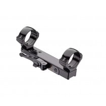 Contessa QR Mount for Browning Bar, Simple Black, 30 mm
