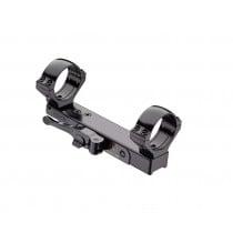 Contessa QR Mount for Benelli M3 Vinci, Simple Black, 30 mm