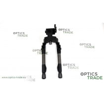 Tier-One Evolution Tactical Bipod - Carbon, QD Picatinny Adapter, Carbon