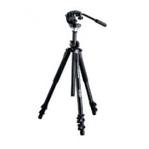 Meopta/Manfrotto tripod incl. head, spikes