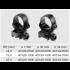Recknagel Tip-off rings for Steyr SSG 69, 34mm
