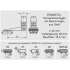 ERAMATIC Swing (Pivot) mount, Brunner Prisma 16,0 mm, 34.0 mm