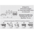 ERAMATIC Swing (Pivot) mount, CZ 527, Swarovski SR rail