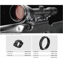 Recknagel Scope ring, 57mm, UNIVERSAL-interface