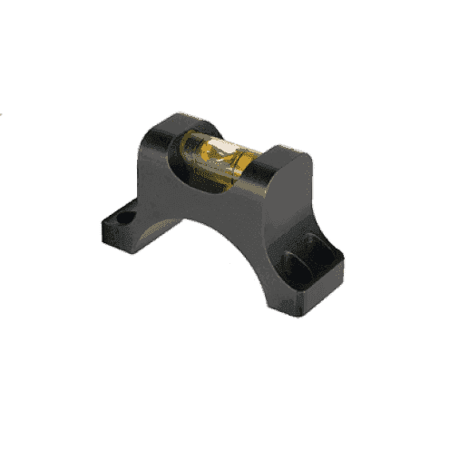 Nightforce Top Half of Ring with Bubble Level - 30mm, 4 Screw