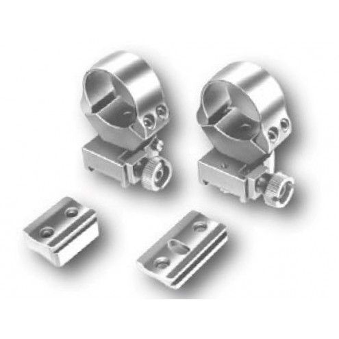 EAW Roll-off Mounts with foot plates for Mauser 2000, 3000, 26 mm - KR 10 mm