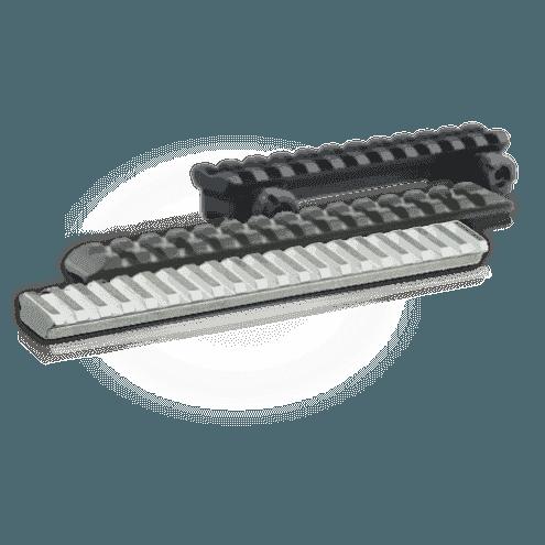 ERA-TAC Picatinny rail for Mauser M12 20 MOA - Steel