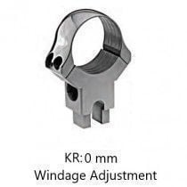 Recknagel Rear Ring with Windage Adjustment for Suhl-Claw Mount, 36 mm