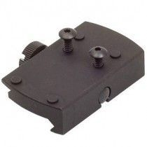 Shield Sights Picatinny-Weaver Aluminum Mount Adapter with Thumb Nut for SMS Mini Sight