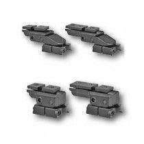 EAW pivot mount, S&B Convex rail, Sako TRG 22/42, Tikka T3