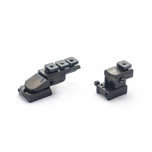 Rusan Pivot mount for Roessler Titan 3/ 6, S&B Convex rail