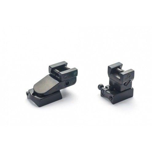 Rusan Pivot mount for Anschutz (11 mm prism), LM rail
