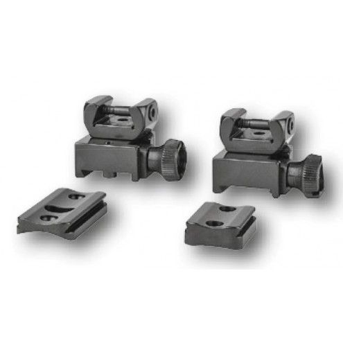 EAW Roll-off Mounts with foot plates, LM rail, KR 0 mm