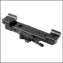 Contessa Simple Black BLS for Burris Laser Scope