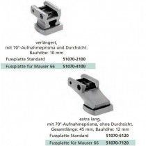 Recknagel Front Foot with Base for Suhl-Claw Mount for LM Rail for Mauser 66