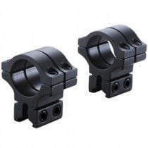 """BKL 1"""" Long Double Strap 14 mm Dovetail Rings, 25.4 mm"""
