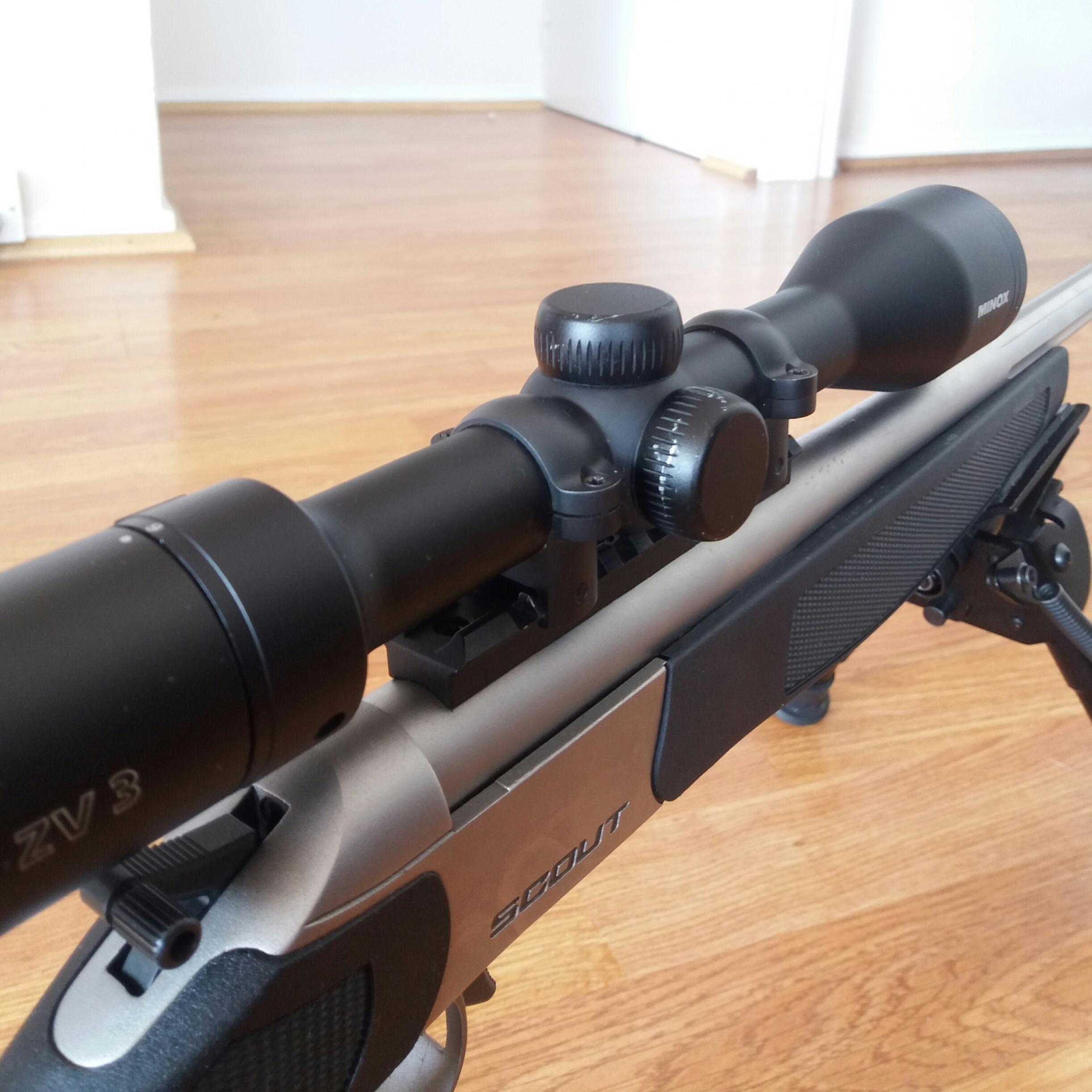 Scope mounts for Bergara Scout - Optics-trade