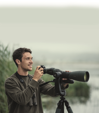 Birding spotting scope for digiscoping