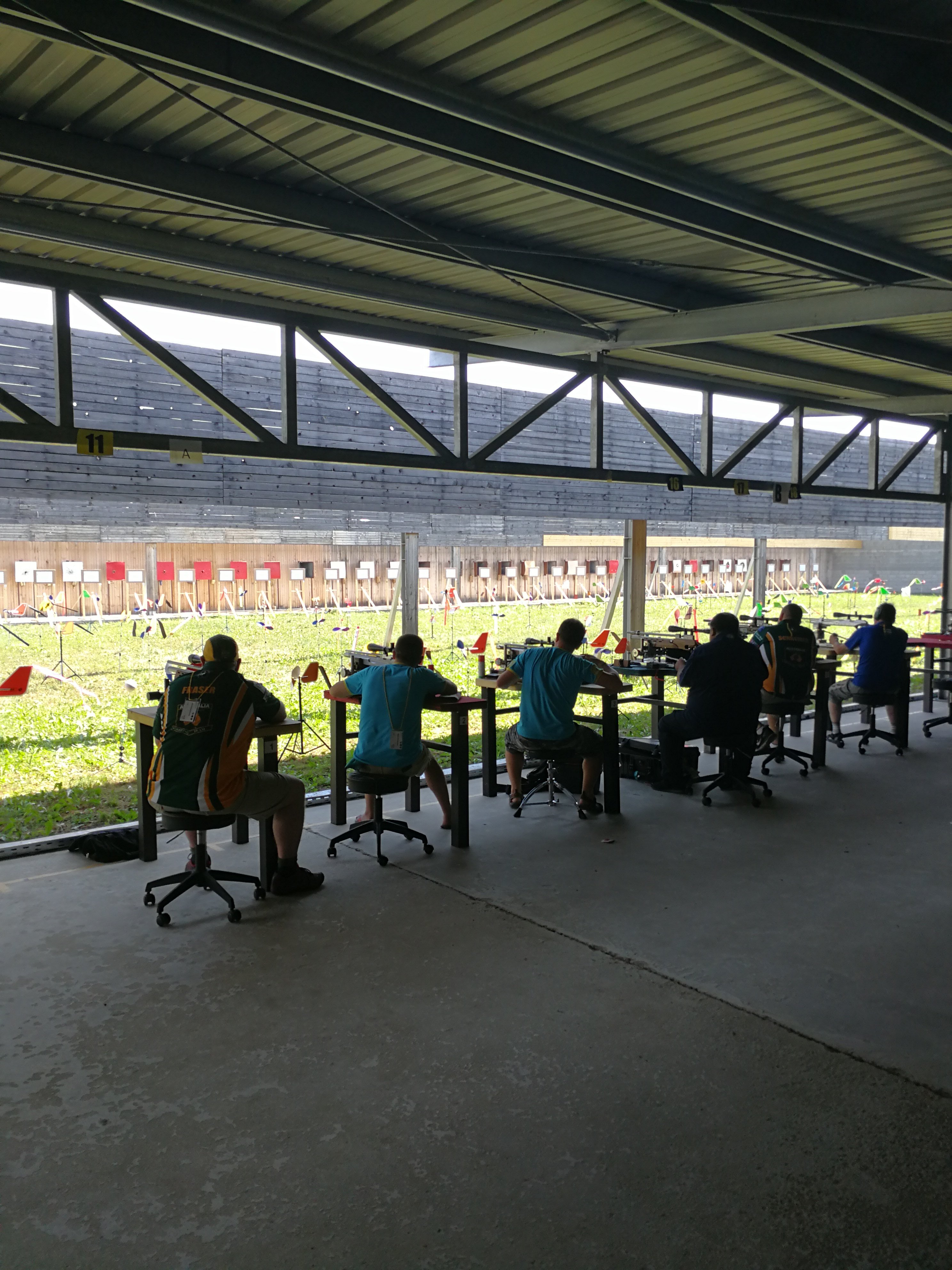 A Benchrest riflescope Competition - us