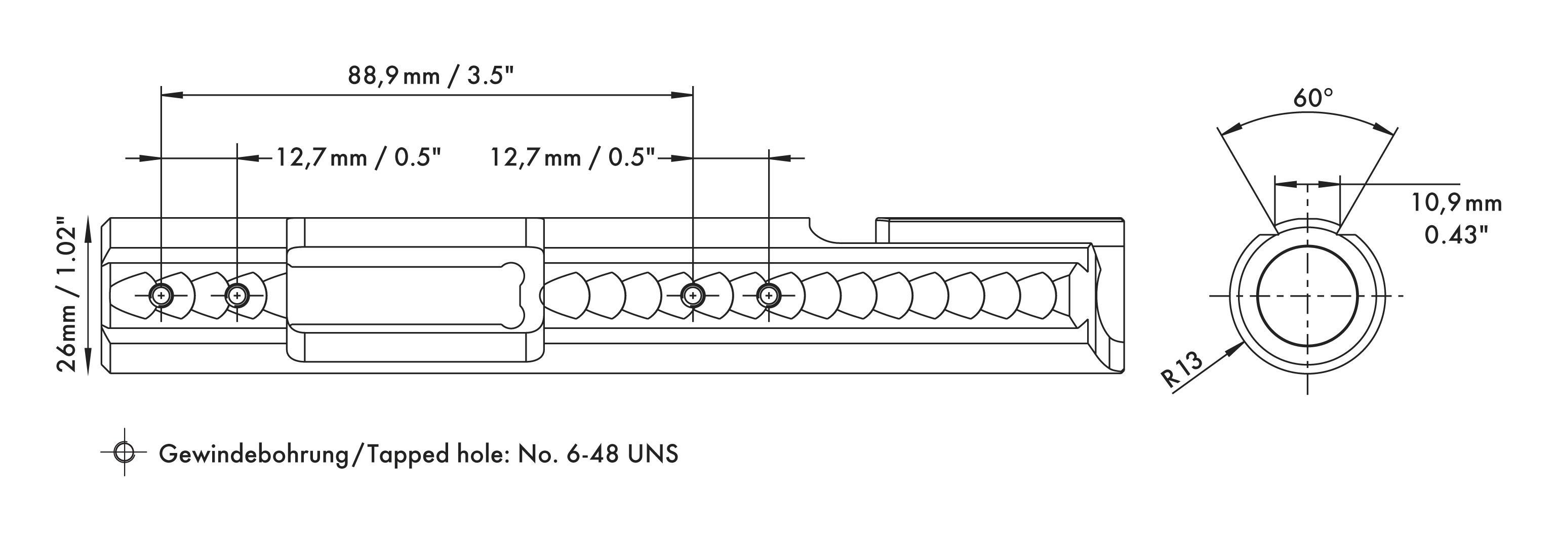 Anschutz 1417 receiver